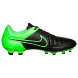 NIKE TIEMPO GENIO LEATHER FG GREEN - BLACK